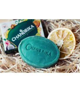 3x Mydło Chandrika 125g do skóry z problemami + 1 mydło 75g gratis w sumie aż 450g!