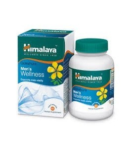 Gokshura (Tribulus Terrestris) - Naturalny testosteron dla mężczyzn 60 kaps. suplement diety Himalaya Herbals