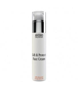 Krem liftingująco - ochronny Lift &Protect Face Cream do twarzy z cykorią i komórkami macierzystymi pomarańczy 50 ml AVEBIO