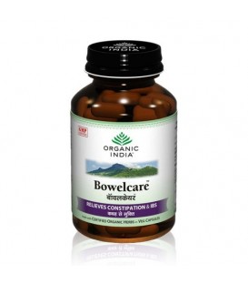 Bowelcare Organic India 90 kaps suplement diety