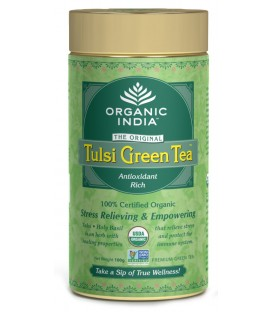 Herbata Green Tulsi Tea 100g sypana Organic India