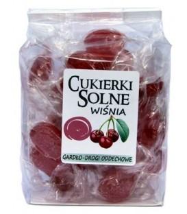Cukierki solne o smaku wiśniowym z solą himalajską 100g