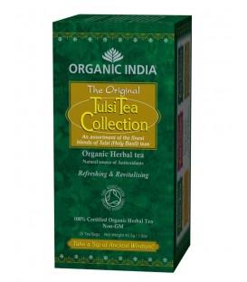 Herbata Tulsi Mix 5 smaków Organic India 25 torebek