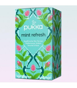 Herbata Mint Refresh Tea - 20 torebek, Pukka