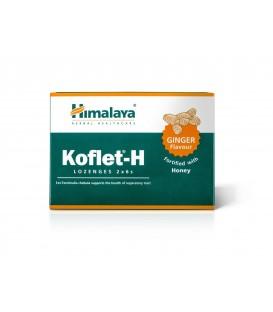 Koflet-H Pastylki do ssania o smaku imbirowym, 2 x 6 sztuk Himalaya