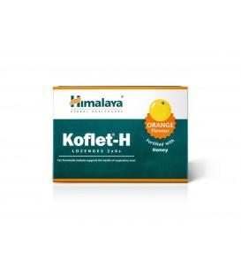 Koflet-H Pastylki do ssania o smaku pomarańczowym, 2 x 6 sztuk Himalaya