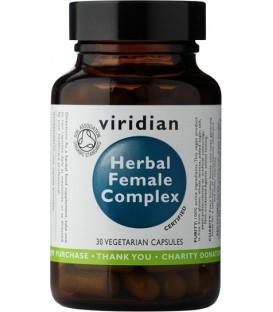 Ekologiczny Kompleks Ziół dla Kobiet - Suplement Diety 30 kapsułek, Viridian