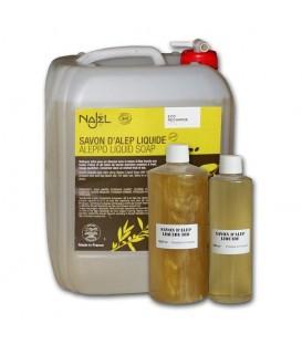 Czarne mydło z ALEPPO CYTRYNOWE w płynie 10L NAJEL -  biodegradowalny ekologiczny detergent