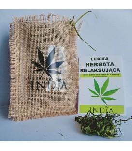 Lekka herbata relaksująca z Konopi indyjskich INDIA, 15 g