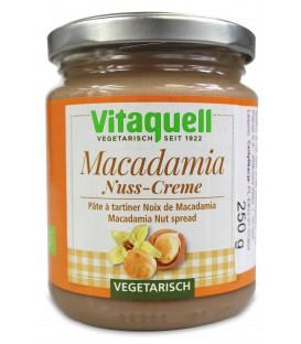 Krem z Orzechów Macadamia BIO 250 g - VITAQUELL