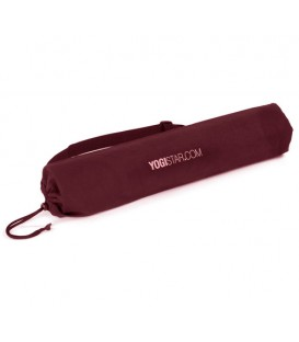 Yogibag basic, cotton, kolor Bordo Yogabag made of cotton for the yogimats® Basic, Light und Soft, as well a