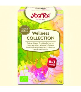 Wellness Collection BIO 6 x 3 torebki YOGI TEA