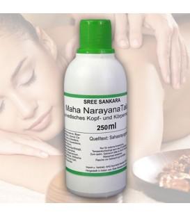 Mahanarayana Thailam ajurwedyjski olej do masażu, 250 ml Sree Sankara