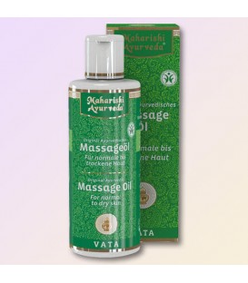 Vata Massage Oil Maharishi BDIH, 200 ml Vata massage oil by Maharishi Ayurveda is suitable for normal to dry skin and mixed ski