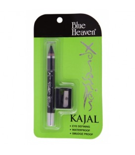 Kajal Xpression z temperówką kolor czarny Blue Heaven 3g