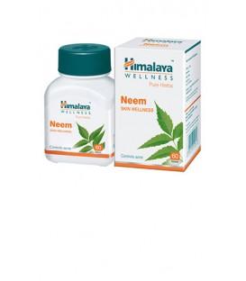 Neem Himalaya Skin wellness 60 kapsułek suplement diety - Specjalista od zdrowej skóry, Zwalcz infekcję i pasożyty