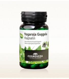 BIO Yogaraja Guggulu 80 kapsułek Cosmoveda - suplement diety