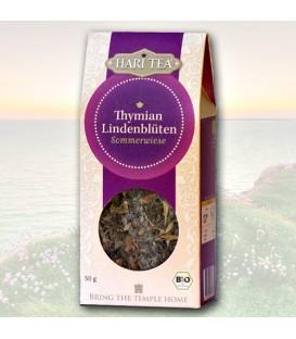 Hari Tea Organiczna Herbata z Tymiankiem i Lipą, 50 gram
