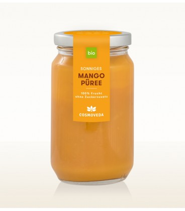 BIO 100% Mango Puree 400ml Cosmoveda Fair Trade