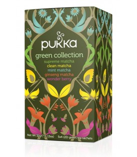 Herbata MIX Green Collection BIO, Pukka, 20 saszetek