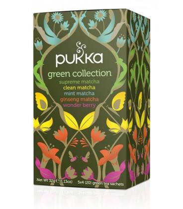 Herbata MIX Green Collection BIO, Pukka, 20 saszetek
