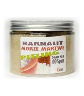 Peeling Karnalitowy Sól z Morza Martwego, 500g, Solana