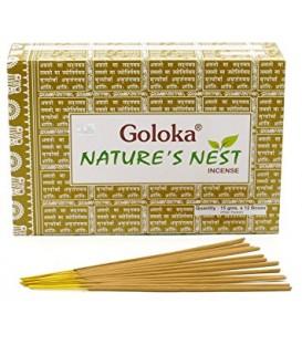 Kadzidła Nature's Nest Goloka, 15g