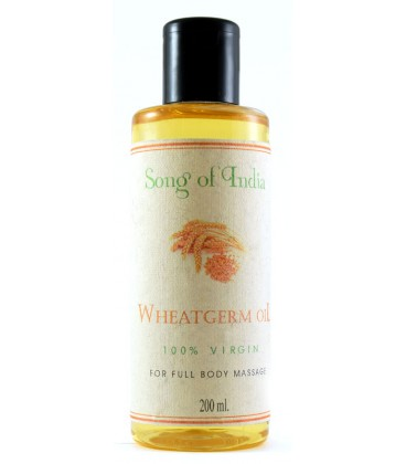 Naturalny Olej z Kiełków Pszenicy, 200ml, Song of India