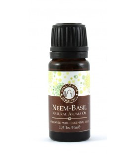 Olejek eteryczny z zakraplaczem, Neem z Tulsi, Song of India, 10ml