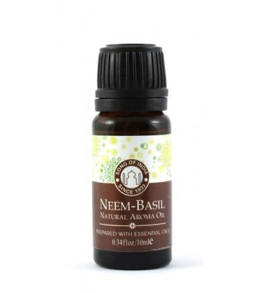 Olejek zapachowy z zakraplaczem, Neem z Tulsi, Song of India, 10ml