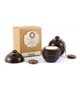 Perfumy w szkatułce z drzewa różanego ORCHIDEA 6g Song of India