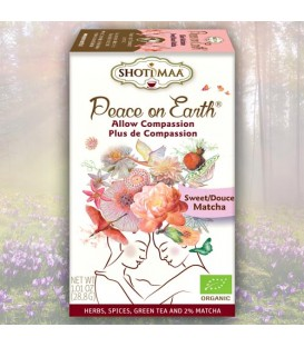 Allow Compassion Shoti Maa Peace on Earth Tea organic, 16 teabags