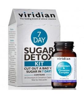7 day Sugar Detox Kit - Chrom i Cynamon (14 kapsułek) suplementy diety Viridian