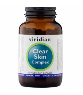 Clear Skin – piękna skóra (60 kapsułek) suplement diety Viridian