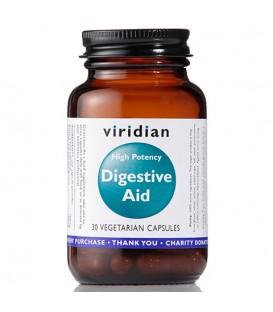 Digestive Aid - Enzymy trawienne (30 kapsułek) suplement diety Viridian