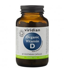 Ekologiczna witamina D (60 kapsułek) suplement diety  Viridian