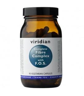Fibre Complex with F.O.S. - Błonnik z F.O.S. (90 kapsułek) suplement diety Viridian