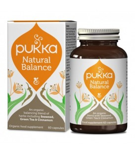 Natural Balance BIO (60 kapsułek) suplement diety Pukka