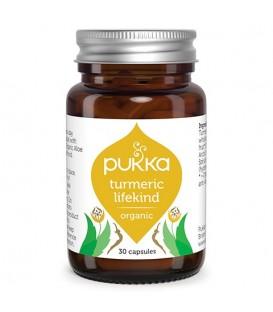 Turmeric LifeKind BIO (30 kapsułek) suplement diety Pukka