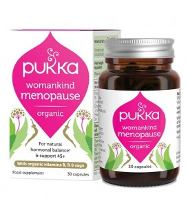 Womankind Menopause BIO (30 kapsułek) suplement diety Pukka