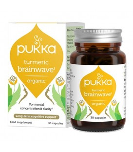 Turmeric Brainwave BIO (30 kapsułek) suplement diety Pukka