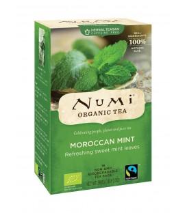 Herbata BIO Moroccan Mint, 18 torebek, Numi Tea Organic