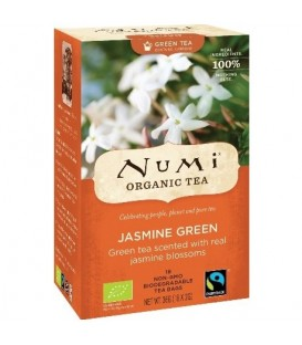 Herbata BIO Jasmine Green Tee, 18 torebek, Numi Tea Organic