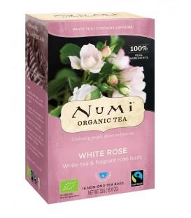 Herbata BIO White Rose Biała Róża, 16 torebek, Numi Tea Organic