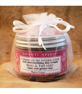 Krem Odmładzający na dzień BIO Róża Damasceńska & Chińska Herbata, 50 ml Shanti Spirit