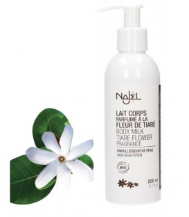 BODY MILK certified ORGANIC* TIARÉ FLOWER fragrance - 200ml