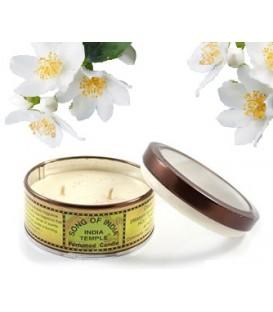 Świeca zapachowa Jasmine Kwiat Jaśminu 55g Song of India