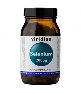 Selen 200ug (90 kapsułek) suplement diety Viridian