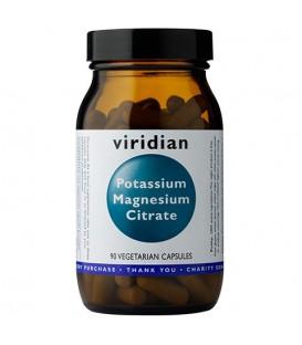 Potas i Magnez (90 kapsułek) suplement diety Viridian