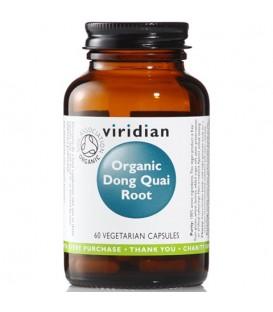 Organic Dong Quai Root (60 kapsułek) suplement diety Viridian